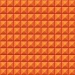 Volumetric texture of orange cubes — Stock Vector #17827711