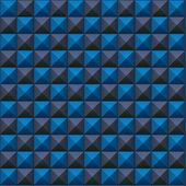 体积纹理的蓝色和灰色多维数据集 — 图库矢量图片