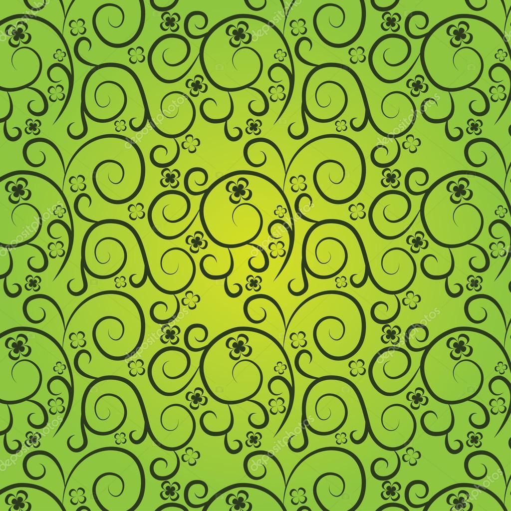 Зеленые текстуры с узорами