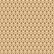 Vintage floral texture on a beige background — Stock Photo