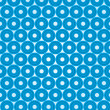 Volumetric blue circles on white background — Stock Photo #18493813
