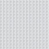 Volumetric pattern of white cubes — Stock Photo