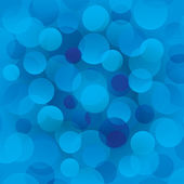 Blue circles abstract light background — Stock Photo