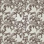 Dark vintage floral background (seamless) — Stock Vector