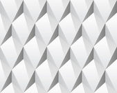 White 3d abstract seamless texture (vector) — Stock Vector