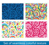 Seamless vector abstract pattern. Colorful texture — Stock Vector