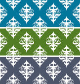 Seamless vector abstract vintage pattern. — Stock Vector