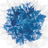Abstract background. Blue geometric shapes. — Stock Photo