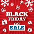 Black Friday Sale background. Christmas background — Stok fotoğraf