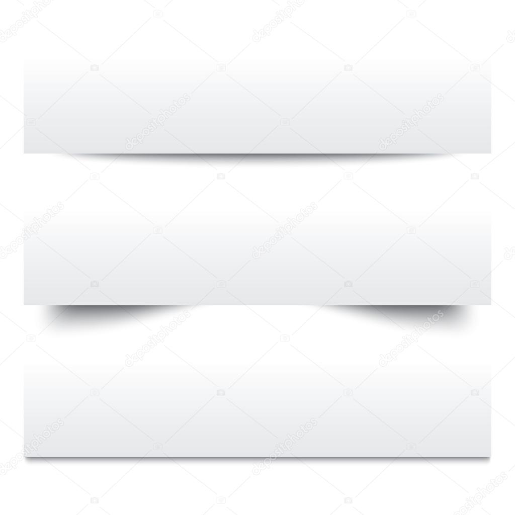 Paper shadows Collection of white note papers Photo – Collection Note