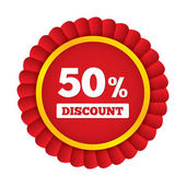 Special offer tag. Discount sticker. Icon for sale — Stock Photo