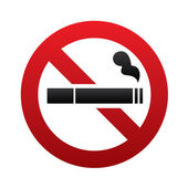 No smoking sign. No smoke icon. Stop smoking. — Stock Vector