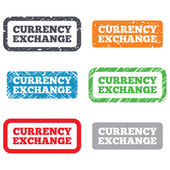 Currency exchange sign icon. Currency converter — Stock Photo