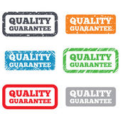 Quality guarantee sign icon. Certificate symbol — Stock Photo
