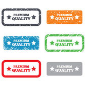 Premium quality sign icon. Special offer symbol — Stock Photo