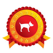 Dog sign icon. Pets symbol. — Stock Vector