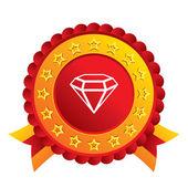 Diamond sign icon. Jewelry symbol. Gem stone. — Stock Photo