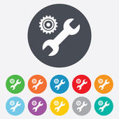 Repair tool sign icon. Service symbol. — Foto Stock