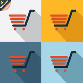 Shopping Cart sign icon. Online buying button. — Stockvektor