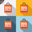 Stock Photo: Big sale bag sign icon. Special offer symbol.