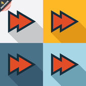 Arrow sign icon. Next button. Navigation symbol — Stok fotoğraf