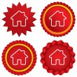 Home sign icon. Main page button. Navigation — Stock Photo