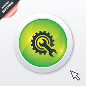Repair tool sign icon. Service symbol. — Stock Vector