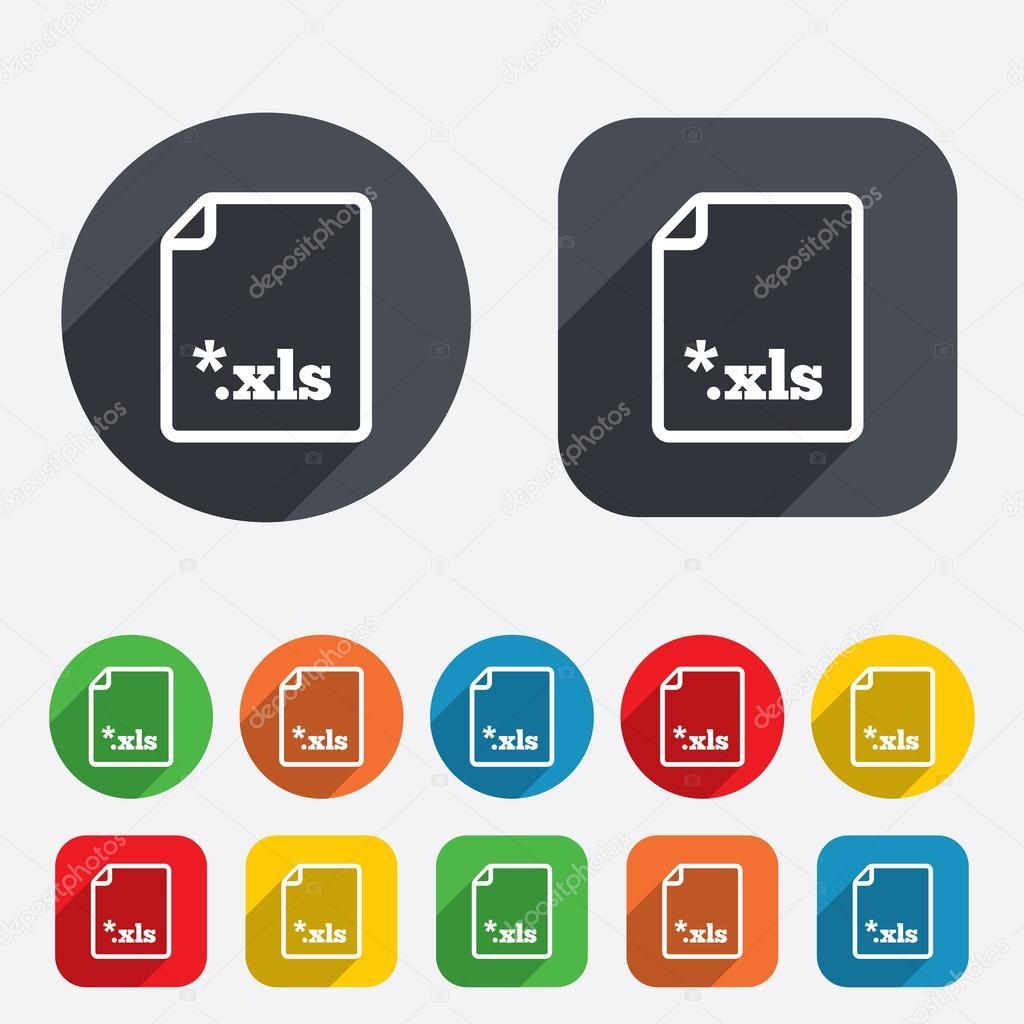 расширение файла xls скачать