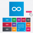 Repeat icon. Loop symbol. Infinity sign. — Stock Photo #44831795