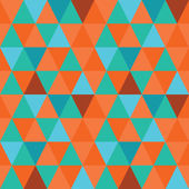 Pattern of geometric shapes. Triangle background. — Stockvector