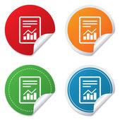 Text fil tecken. fil dokument med schemasymbol. — Stockvektor