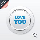 Amor firme icono. símbolo del día de San Valentín. — Vector de stock