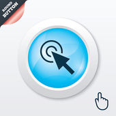 Mouse cursor sign icon. Pointer symbol. — Vetorial Stock