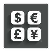 Currency exchange sign icon. Currency converter — Stock Vector