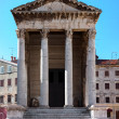 Stock Photo: Temple of Romand Augustus