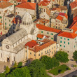 Sibenik old town cathedral — Stock Photo