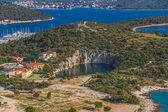 Marina Frapa lake — Stock Photo