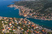 Tisno aerial — Stock Photo