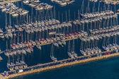 Biograd marina aerial — Stock Photo