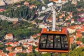 Dubrovnik cable car — Stock Photo