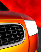 3d bil — Stockfoto