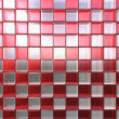 Royalty-Free Stock Photo: Red and white cubes