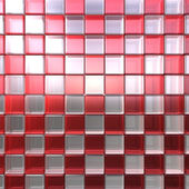 Red and white cubes — Stock Photo
