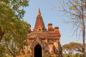 Gubyaukgyi Temple Bagan — Stock Photo