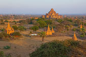 Sunset in Bagan — 图库照片