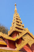 Temple in The Shwezigon Pagoda, Bagan — Stock Photo