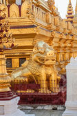 The Shwezigon Pagoda — Stock Photo