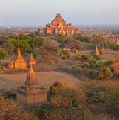 Sunset in Bagan — Foto de Stock
