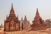 Small pagodas in Bagan — Stock Photo