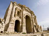 Hadrian Arch of Triumph, Jerash — Stock Photo